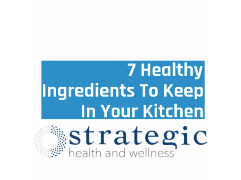 Seven Ingredients in Your Kitchen That Make You Healthier